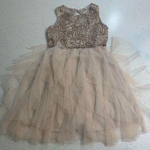 Rare Editions beaded formal sleeveless dress
